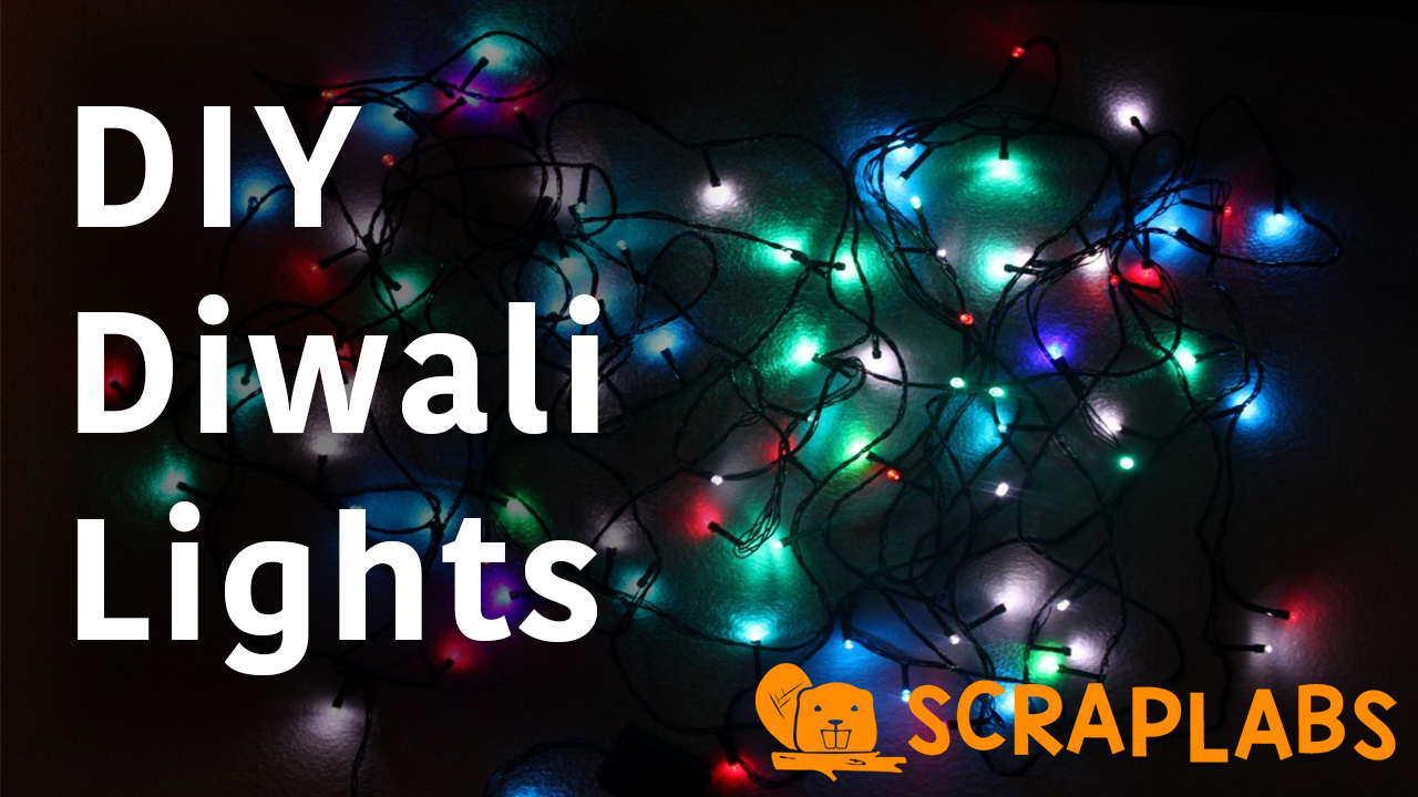 DIY LED Diwali Lights