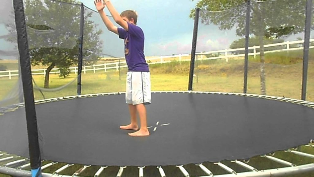trampoline science